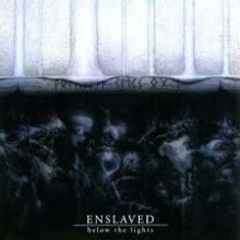 "Enslaved - Below the Lights (12"" LP  Limited Edition mof 400, reissue, blue galaxy: dark blue on bab"