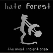 "Hate Forest - The Most Ancient Ones (12"" LP Limited Edition on Clear Vinyl)"