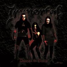 "Immortal - Damned In Black (12"" LP)"