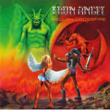 "Iron Angel - Hellish Crossfire (12"" LP (Yellow Vinyl))"