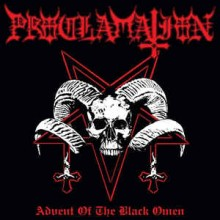 "Proclamation - Advent Of The Black Omen (12"" LP 2020 reissue, housed in a gatefold jacket printed wi"