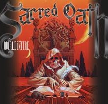 "Sacred Oath - World on Fire (12"" Double LP Ltd to 600)"