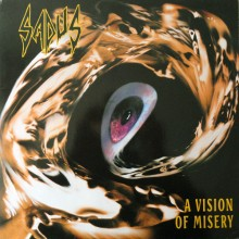 "Sadus - A Vision of Misery  (12"" LP Red Vinyl)"