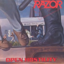 "Razor - Open Hostility (12"" LP)"