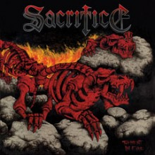"Sacrifice - Torment In Fire (12"" LP (BLOOD RED Ltd 400))"