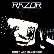 "Razor - Armed and Dangerous (12"" LP)"