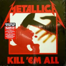 "Metallica - Kill 'Em All (12"" LP The first remastered version from 2016. Under exclusive licen"
