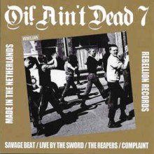 "Various Artists - Oi! Ain't Dead 7 (Made In The Netherlands) (12"" LP 150x black (this one) Jac"