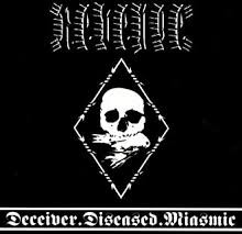 "Revenge - Deceiver.Diseased.Miasmic (10"" Single Sided, EP, Etched, Limited Edition of 500, White Vin"
