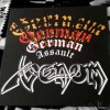 "Venom - German Assault (12"" LP (Yellow With Red Splatter) )"